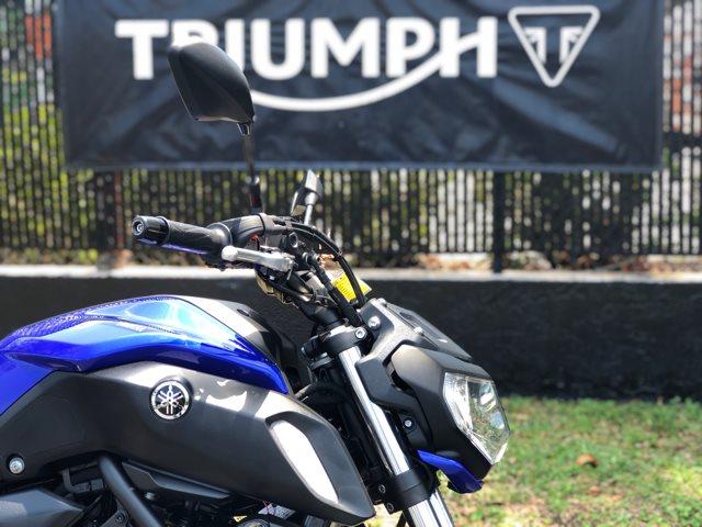 2018 Yamaha MT 07 at Tampa Triumph, Tampa, FL 33614