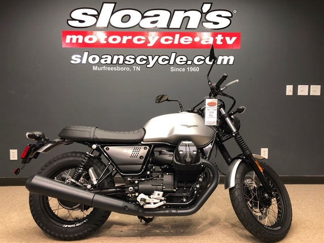 2018 Moto Guzzi V7 III Rough at Sloans Motorcycle ATV, Murfreesboro, TN, 37129