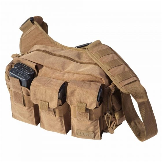 2019 5.11 Tactical Bail Out Bag 9L Flat Dark Earth at Harsh Outdoors, Eaton, CO 80615