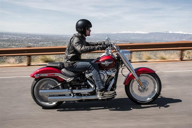 2018 Harley-Davidson Softail Fat Boy at Zips 45th Parallel Harley-Davidson