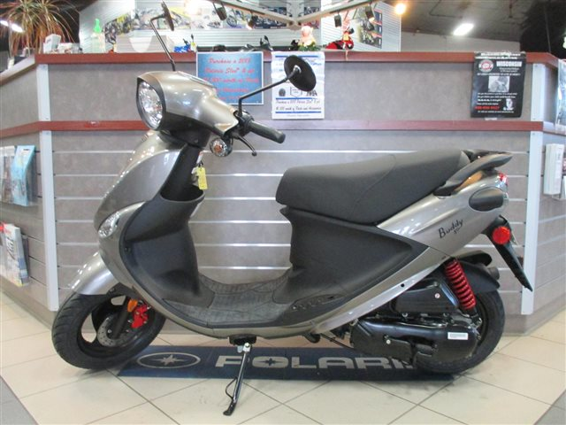 2017 Genuine Scooter Co. Buddy Eclipse 50 at Rod's Ride On Powersports, La Crosse, WI 54601