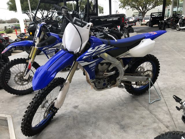 2018 Yamaha YZ 450F at Kent Powersports, North Selma, TX 78154