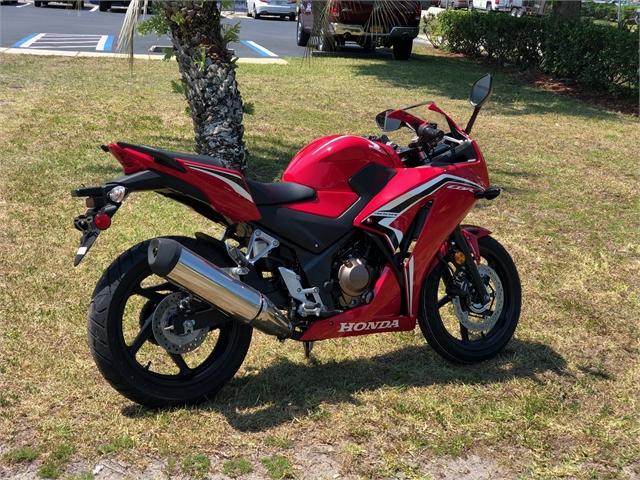 2021 Honda CBR300R ABS at Powersports St. Augustine
