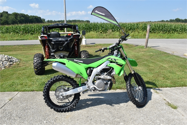 2022 Kawasaki KX 450X at Thornton's Motorcycle - Versailles, IN