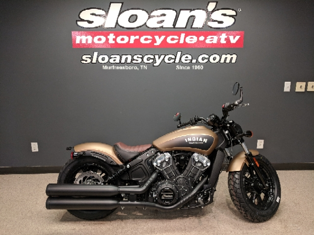2019 Indian Scout Bobber at Sloan's Motorcycle, Murfreesboro, TN, 37129