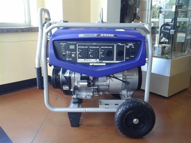 2018 Yamaha Power Portable Generator EF5500DE/D at Yamaha Triumph KTM of Camp Hill, Camp Hill, PA 17011