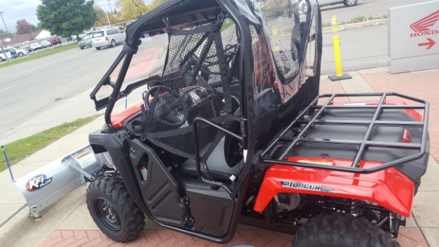 2018 Honda Pioneer 500 2 SEAT Base at Genthe Honda Powersports, Southgate, MI 48195