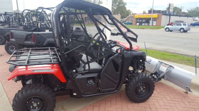 2018 HONDA PIONEER 500 2-SEAT Base at Genthe Honda Powersports, Southgate, MI 48195