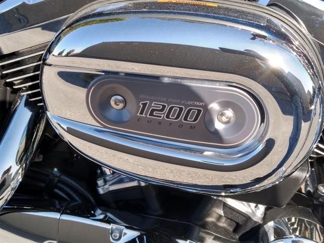 2017 Harley-Davidson Sportster 1200 Custom at M & S Harley-Davidson