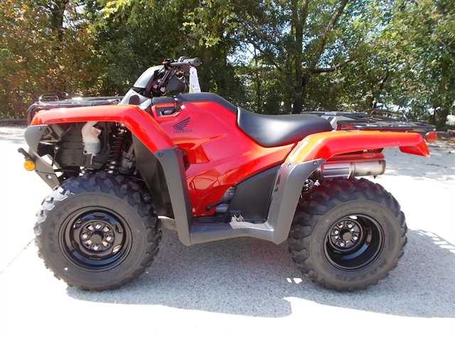 2021 Honda FourTrax Rancher 4X4 at Kent Motorsports, New Braunfels, TX 78130