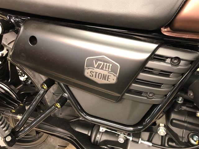 2019 MOTO GUZZI V7 III STONE NIGHT PACK V7 III STONE NIGHT PACK at Sloans Motorcycle ATV, Murfreesboro, TN, 37129