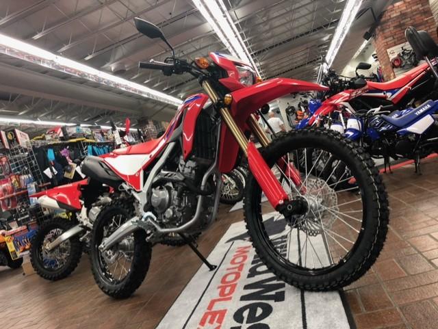 2021 Honda CRF 300L ABS at Wild West Motoplex