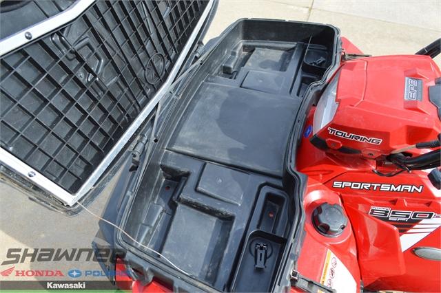 2013 Polaris Sportsman Touring 850 HO EPS Sunset Red LE at Shawnee Honda Polaris Kawasaki