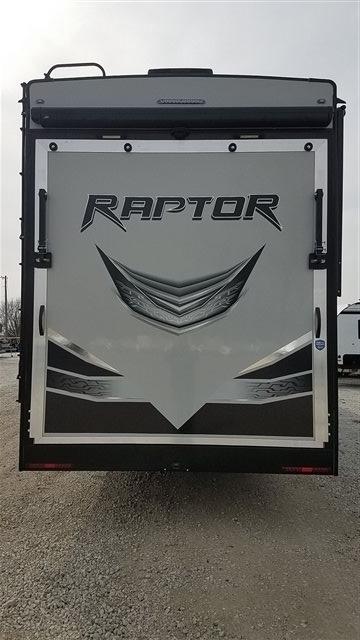 2019 Keystone Raptor 425TS Toy Hauler at Nishna Valley Cycle, Atlantic, IA 50022