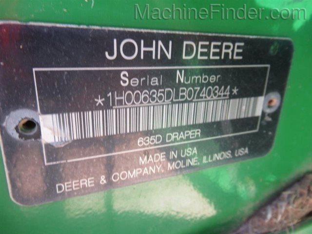 2011 John Deere 635D at Keating Tractor