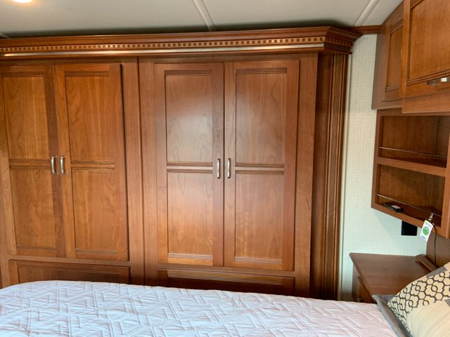 2016 Winnebago Solei 34T Rear bedroom at Campers RV Center, Shreveport, LA 71129