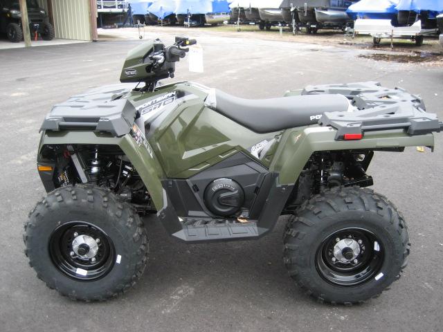 2020 Polaris 570 EPS Sportsman - Sage Green at Fort Fremont Marine