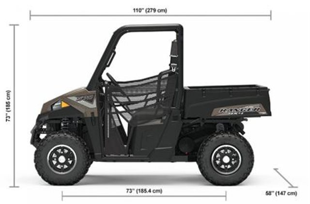 2019 Polaris Ranger 570 EPS at Pete's Cycle Co., Severna Park, MD 21146