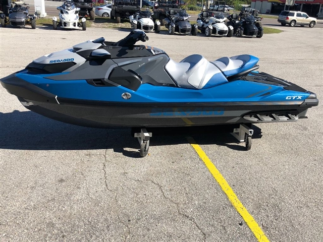2019 Sea-Doo GTX 155 w/ IBR & Sound System at Jacksonville Powersports, Jacksonville, FL 32225