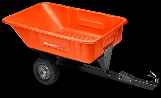 2017 Husqvarna 10cu ft Poly Swivel Dump Cart at Harsh Outdoors, Eaton, CO 80615