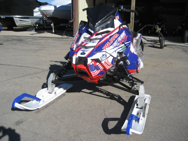 2017 Polaris 600 IQR AXYS at Fort Fremont Marine Redesign