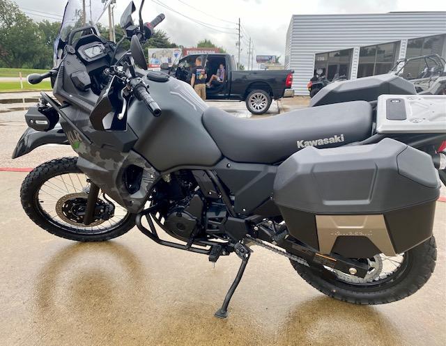 2022 Kawasaki KLR 650 Adventure at Shreveport Cycles