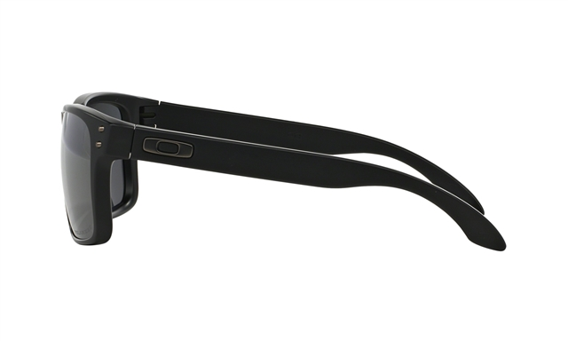 2019 Oakley Holbrook™ Polarized Matte Black w/ Black Iridium Polarized at Harsh Outdoors, Eaton, CO 80615