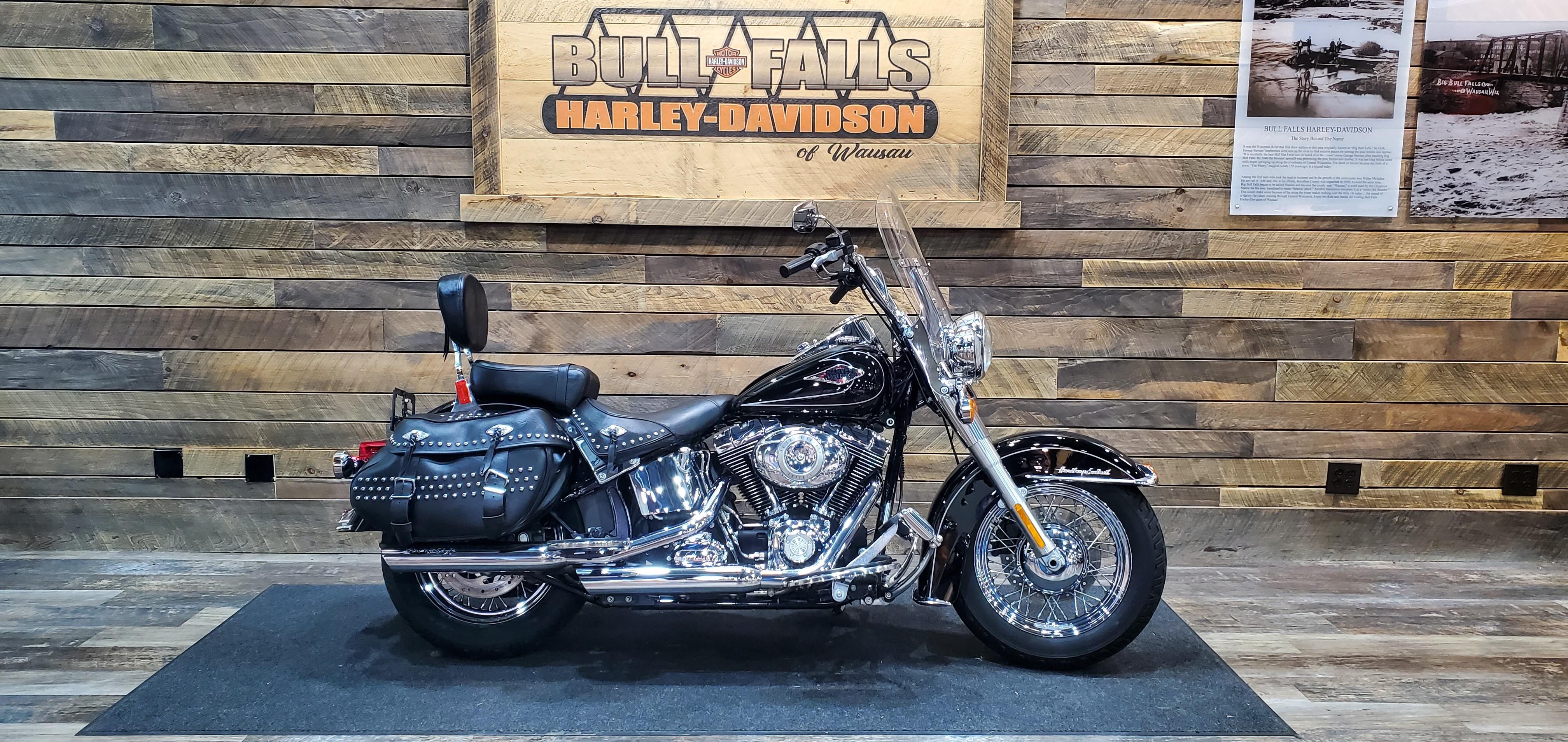 2009 Harley-Davidson Softail Heritage Softail Classic at Bull Falls Harley-Davidson