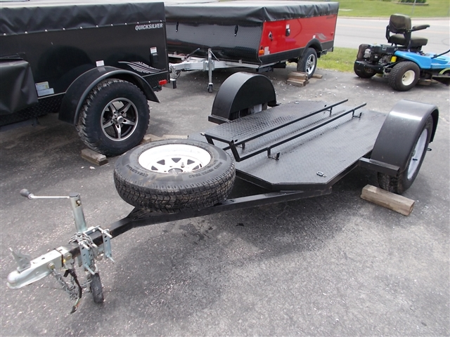 2010 Homemade 4X7 Single Place Motorcycle Trailer at Nishna Valley Cycle, Atlantic, IA 50022