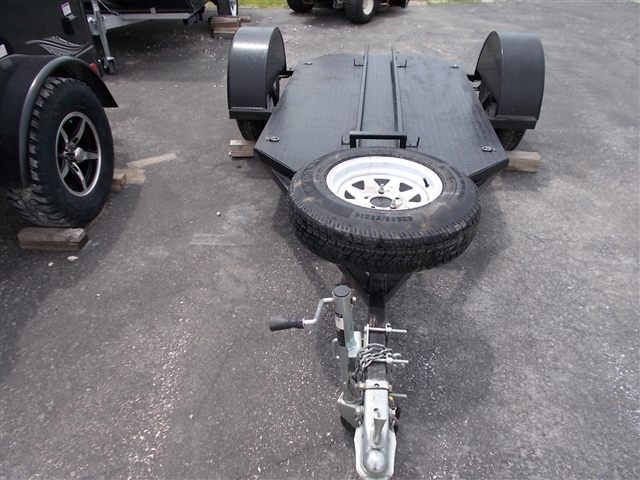 2010 Homemade 4X6 Single Place Motorcycle Trailer at Nishna Valley Cycle, Atlantic, IA 50022