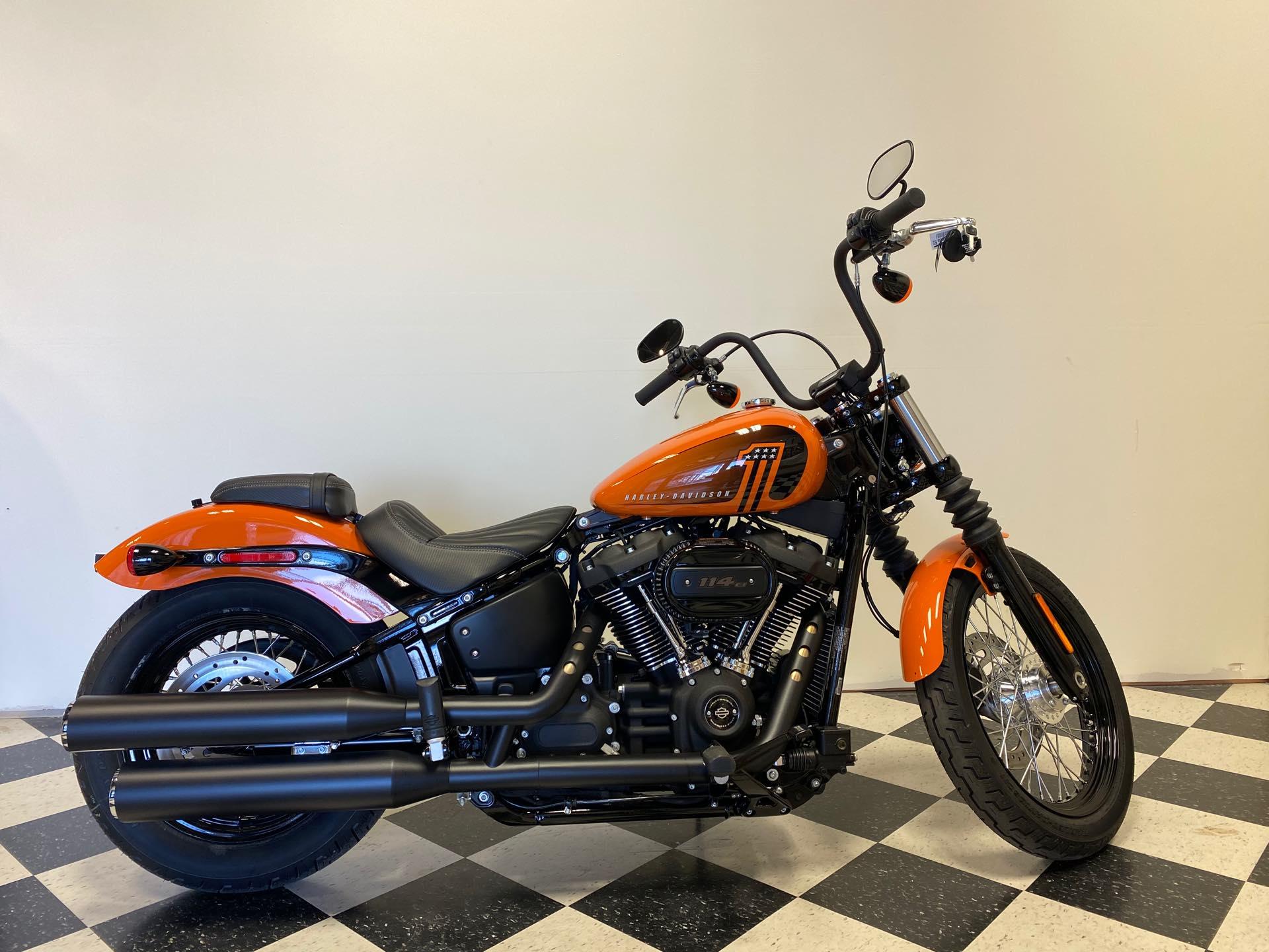 2021 Harley-Davidson Cruiser FXBBS Street Bob 114 at Deluxe Harley Davidson
