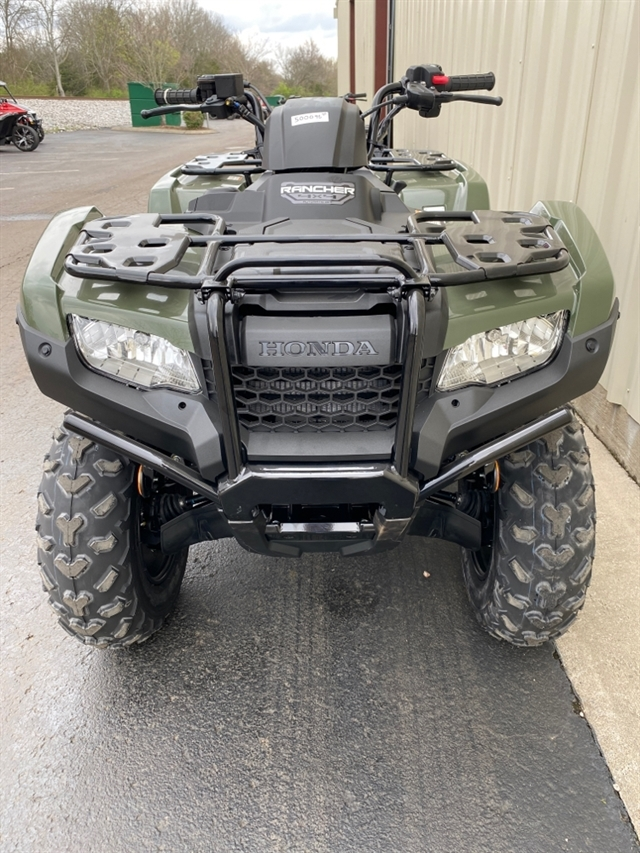 2020 Honda FourTrax Rancher 4X4 Automatic DCT IRS at Sloans Motorcycle ATV, Murfreesboro, TN, 37129