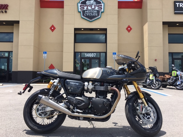 2020 Triumph THRUXTON TFC at Fort Myers