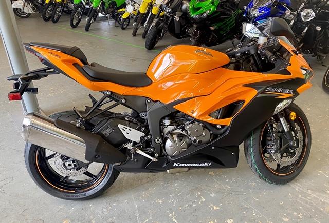 2020 KAWASAKI ZX636GLF ABS at Shreveport Cycles