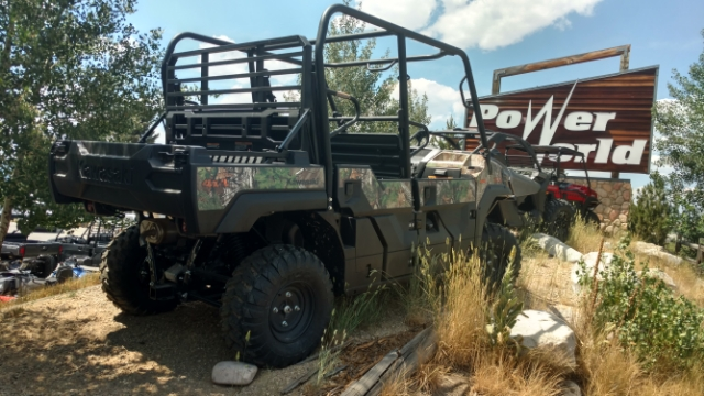 2018 Kawasaki Mule™ PRO-FXT™ EPS Camo at Power World Sports, Granby, CO 80446