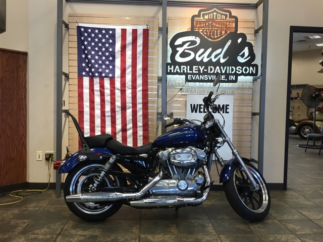 2016 Harley-Davidson Sportster SuperLow at Bud's Harley-Davidson