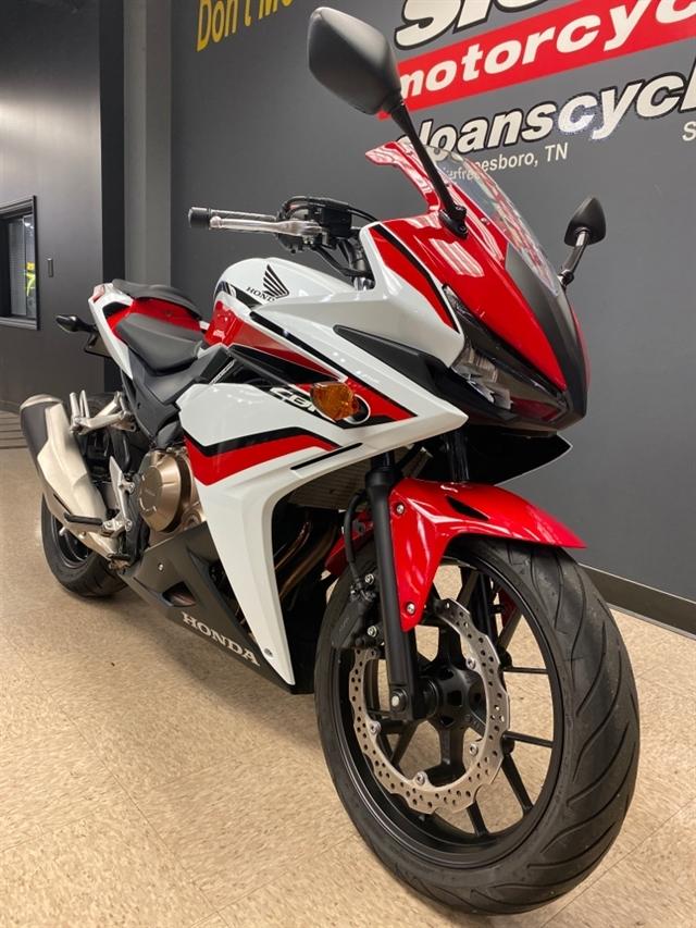 2018 Honda CBR500R Base at Sloans Motorcycle ATV, Murfreesboro, TN, 37129