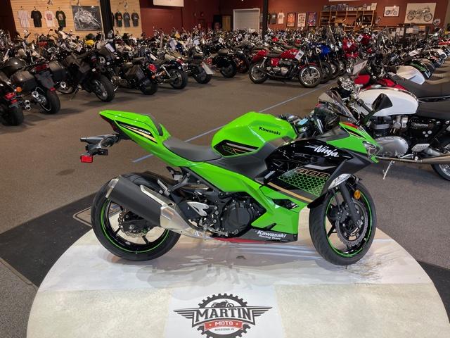 2020 Kawasaki Ninja 400 KRT Edition at Martin Moto