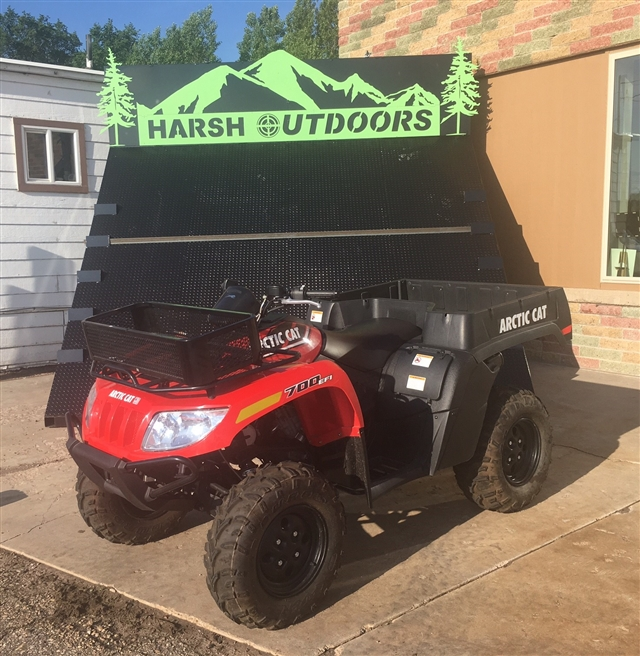 2016 Arctic Cat 700 TBX at Harsh Outdoors, Eaton, CO 80615