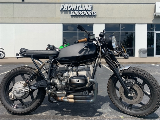 1985 BMW R80 Custom Scrambler at Frontline Eurosports