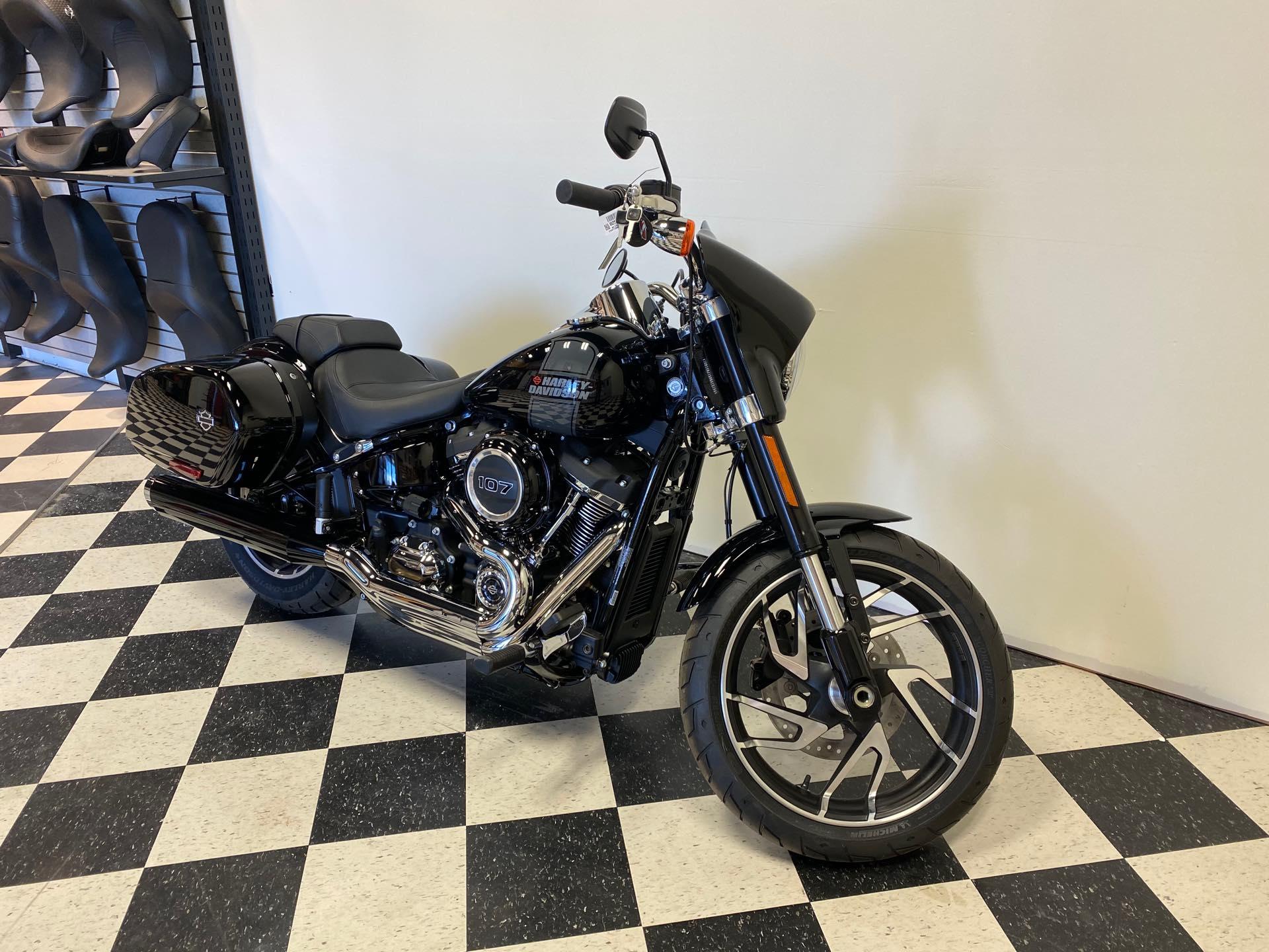 2021 Harley-Davidson Cruiser FLSB Sport Glide at Deluxe Harley Davidson