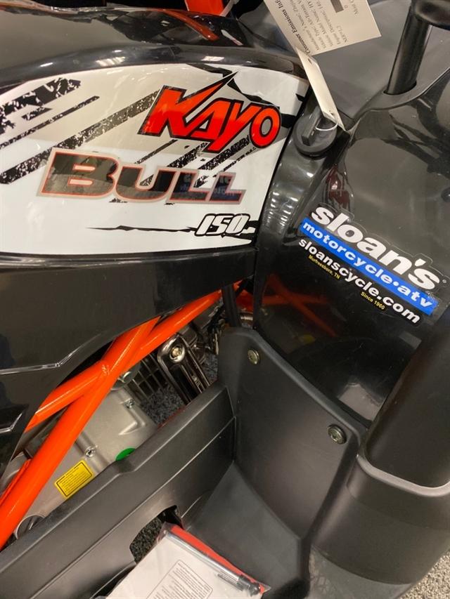 2020 KAYO USA, A & G Distributing BULL 150 AU150-BLK at Sloans Motorcycle ATV, Murfreesboro, TN, 37129