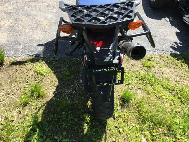 2017 Honda Africa Twin Base at Randy's Cycle, Marengo, IL 60152