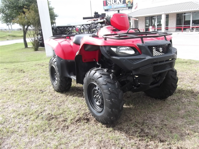 2016 Suzuki KingQuad 500 AXi at Kent Motorsports, New Braunfels, TX 78130