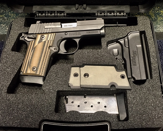 2016 Sig Sauer P938 at Harsh Outdoors, Eaton, CO 80615