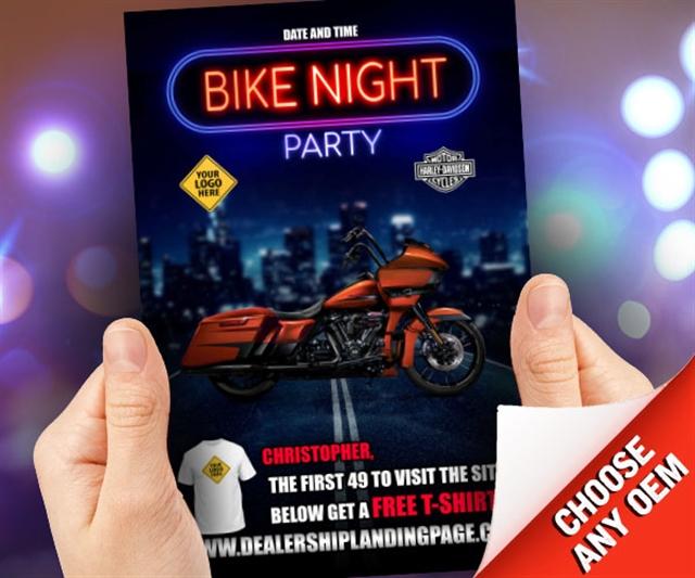 Bike Night Party Powersports at PSM Marketing - Peachtree City, GA 30269