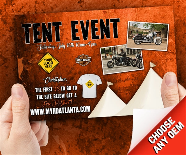 Tent Event Powersports at PSM Marketing - Peachtree City, GA 30269