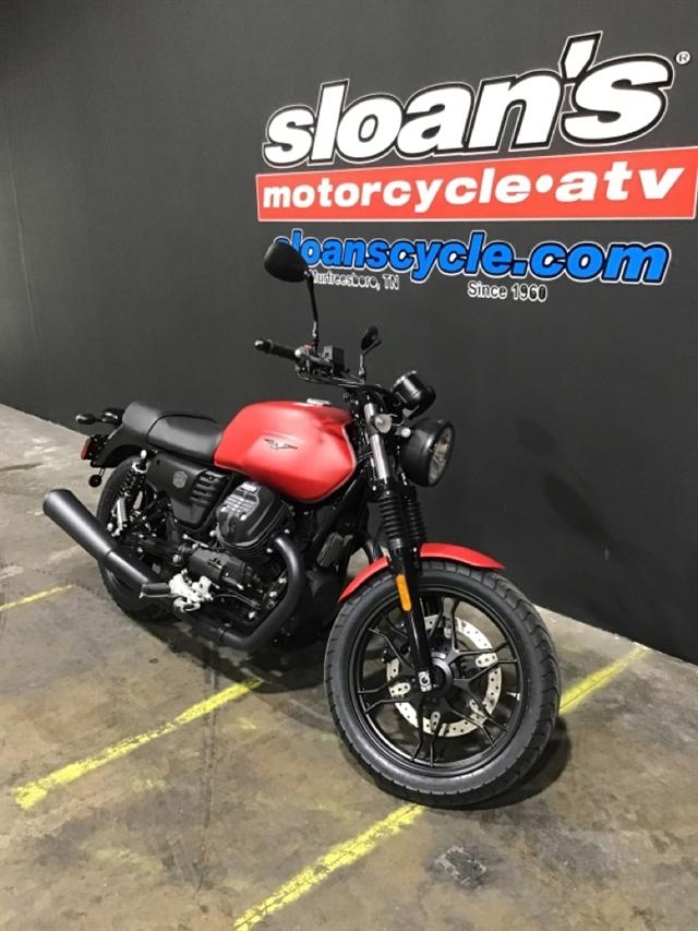 2020 MOTO GUZZI V7 III STONE V7 III STONE ROSSO ROVENTE at Sloans Motorcycle ATV, Murfreesboro, TN, 37129