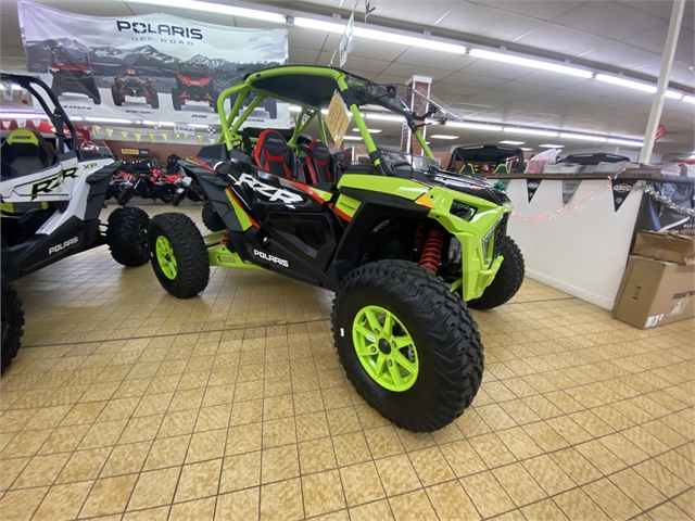 2021 Polaris RZR Turbo S Lifted Lime LE at Southern Illinois Motorsports