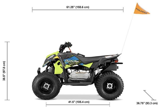 2021 Polaris Outlaw 110 EFI at Lynnwood Motoplex, Lynnwood, WA 98037